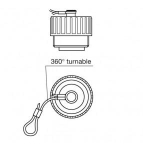 Hirschmann CA00SD4 Tappo Protettivo per Connettori da Pannello serie CA