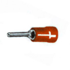 Puntalino per cavo sezione 0,25÷1,5mm Rosso Confezione 100pz