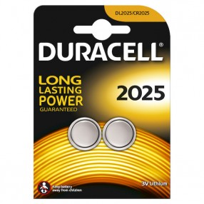 Batteria Duracell 2025 Blister 2 pezzi