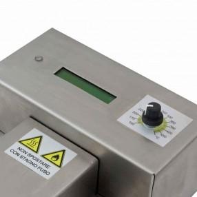 Crogiolo Statico per Saldatura E8x7x3 con controllo digitale