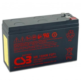 CSB HR 1224W F2F1 Batteria Ricaricabile 12V 24W