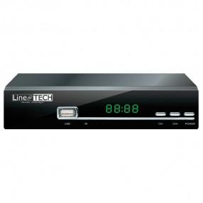 Line@TECH DTT-101 Decoder Digitale Terrestre DVB-T2 H.265 HEVC - Vista Frontale