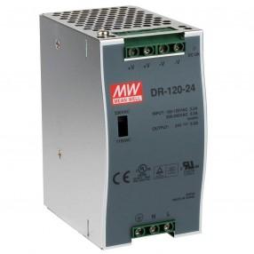 Mean Well DR-120-24 Alimentatore da Barra DIN 24VDC 5A