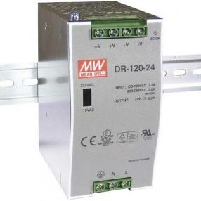 MEAN WELL DRH-120-24 Alimentatore Bifase 120 Watt 24VDC 5 Ampere