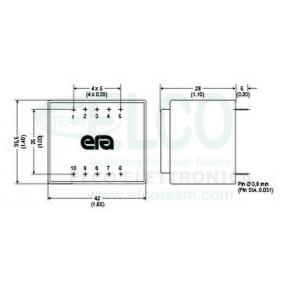 ERA BV038-5210.0 - Dimensioni
