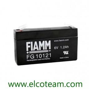 Fiamm FG10121 Batteria ermetica al piombo 6V 1,2Ah