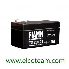Fiamm FG20121 Batteria ermetica al piombo 12V 1,2Ah