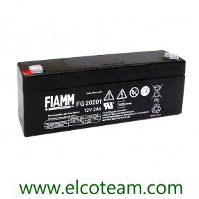Fiamm FG20201 Batteria ermetica al piombo 12V 2Ah