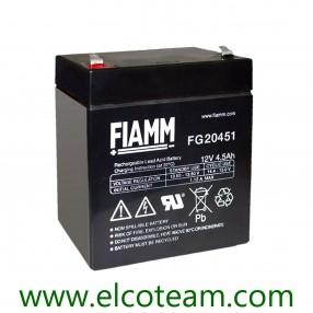 Fiamm FG20451 Batteria ermetica al piombo 12V 4,5Ah