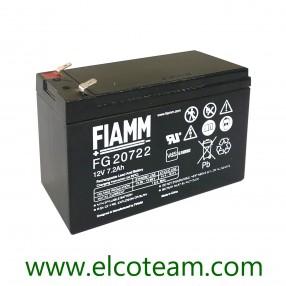 Fiamm FG20722 Batteria ermetica al piombo 12V 7,2Ah