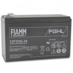 Fiamm 12FGHL34 Batteria ermetica al piombo 12V 8,4Ah Long Life