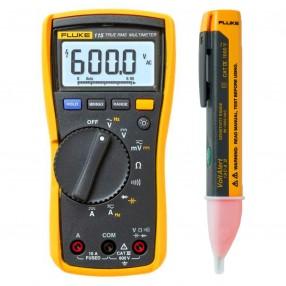Kit Promo Multimetro Fluke 115 + Volt Allert  Fluke 1AC II