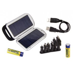 Caricabatterie Solare VARTA SOLAR Charger + 2 batterie AA 2100mAh