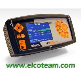Misuratore di campo professionale Televes H45 Compact + Mpeg4 (FullHD)