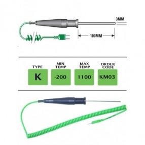 KM03 Termocoppia tipo K per Usi Generici