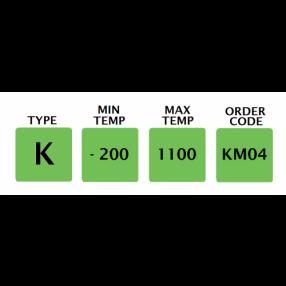KM04 Termocoppia tipo K per Usi Generici