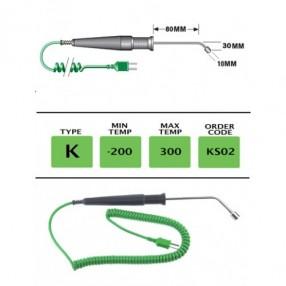 KS02 Termocoppia Curva tipo K a Risposta Veloce