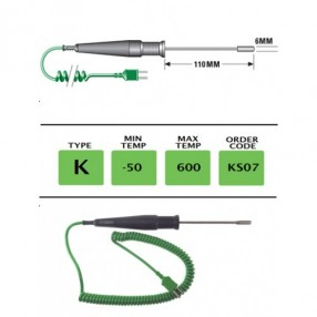 KS07 Termocoppia tipo K per Superfici per Alte Temperature