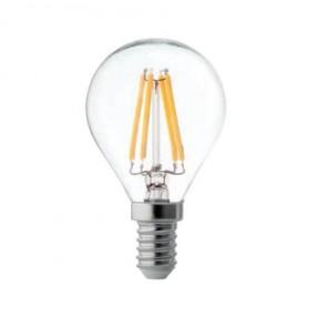 Lampada Wireled sfera chiara E14 4W 3000K Wiva 12100585