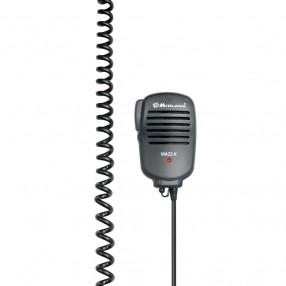 Midland MA22-K - Microfono altoparlante con PTT e presa 2 Pin tipo Kenwood