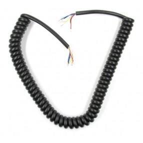 Cavo Microfonico Spiralato di ricambio 6 conduttori MC-6 Ham-Way