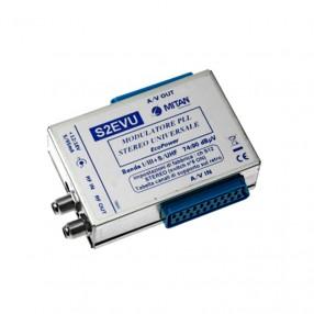 Modulatore stereo Mitan S2FVU con presa Scart
