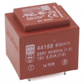 Myrra 44159 Trasformatore Incapsulato 230V - 12V Potenza 2,3VA