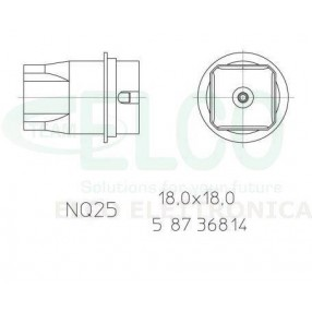 Weller NQ 25 Ugello ad aria calda cod. 0058736814