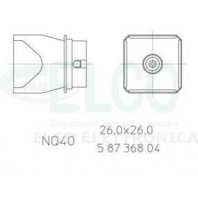 Weller NQ 40 Ugello ad aria calda cod. 0058736804