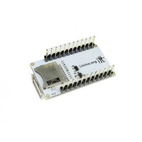 Linino™ dogUSB (particolare dello slot per SD Card)