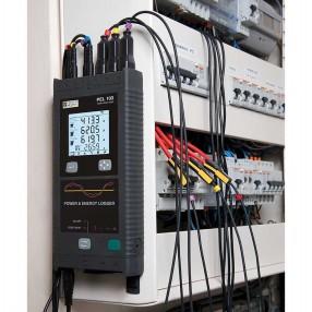 Chauvin Arnoux PEL103 Data Logger di Potenza e d'Energia con MiniFLEX MA193 a Adattatore di Rete 11-0000-417