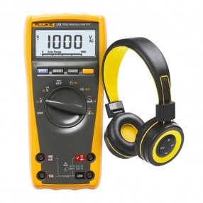 PROMO Fluke 175 Multimetro digitale TRMS + Cuffie Bluetooth