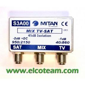 Miscelatore Sat-TV Mitan S3A00