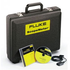 Fluke SCC120 Kit Valigia, Interfaccia PC e Software