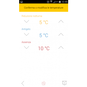 Termostato Touchscreen GSM Vimar 02906 - App