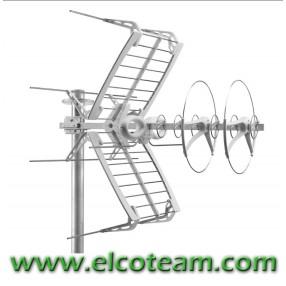 Antenna VHF+UHF Fracarro SIGMA COMBO HD