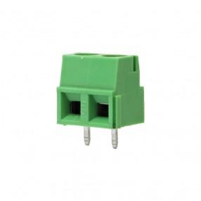 Stelvio CPP3.5/2 Mini Morsettiera a Vite da PCB 2 Vie passo 3.5mm 10A 160V