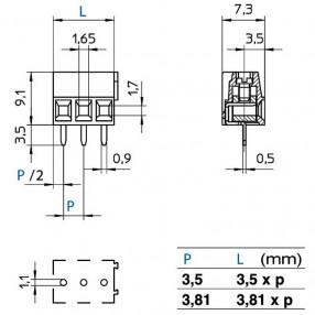Stelvio CPP3.5 dimensioni e ingombri