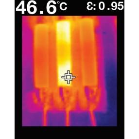 FLIR TG165 - Immagine IR su Quadro Elettrico