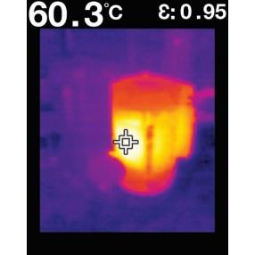 FLIR TG165 - Immagine IR Motore Elettrico