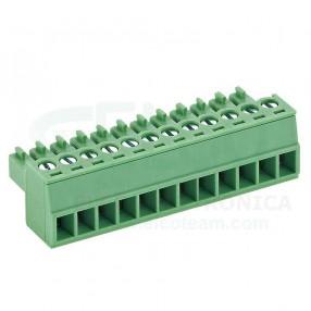 Morsetto Sconnettibile 12 poli passo 3,5mm Tianli TLPS-001V-12P