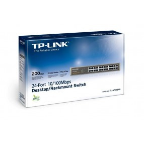 TP-Link TL-SF1024D - Switch 10/100 Mbps 24 Porte