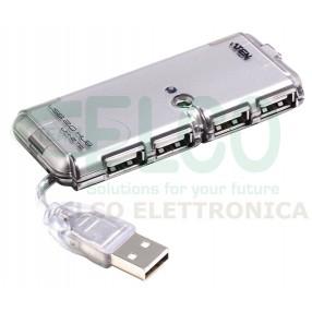 ATEN UH275 - Hub USB 2.0 4 Porte