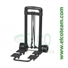 Trolley estensibile utile per trasportare valigie porta attrezzi e borse da lavoro - Vista chiuso