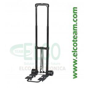 Trolley estensibile utile per trasportare valigie porta attrezzi e borse da lavoro - Vista estesa