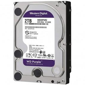 WD Purple 2 TB HDD Hard Disk per Videosorveglianza WD20PURZ SATA 6Gb/s