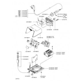 Weller WDD161V - Esploso