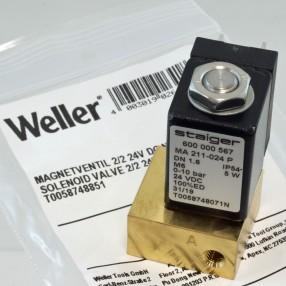 Weller T0058748851 Valvola Solenoide 24VDC per unità WDD/PUDD