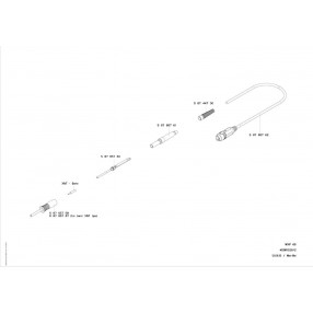 0058765760 Resistenza di Ricambio per Saldatore Weller WXP65