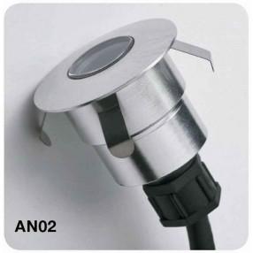 Antares AN02 Faretto da Incasso a LED 0,5 Watt Bianco Naturale